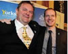 Welcome to Yorkshire Chief, Gary Verity, and TDF Director, Christian Prudhomme; a bromance made in Yorkshire!